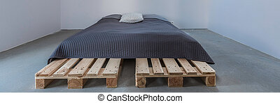 Stylish and simple bed
