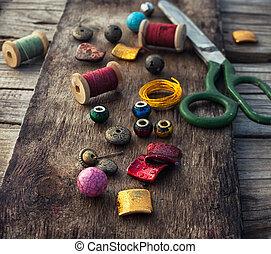 Stylish beads for needlework - Set fashion beads for weaving...