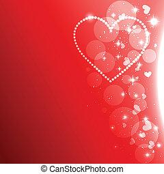 vector heart design