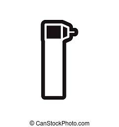 stylish black and white icons dental Instruments