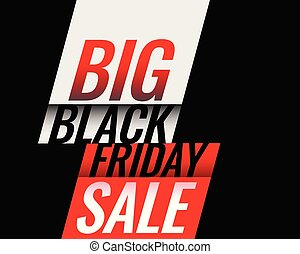 stylish black friday sale banner design