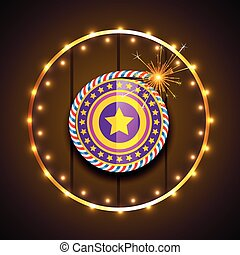 stylish design of diwali