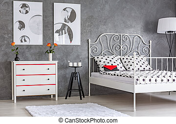 Stylish designed bedroom