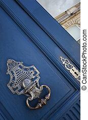 Stylish door knocker