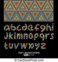 Stylish Font Poster