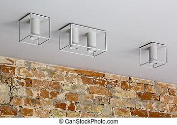 Stylish hanging lamps