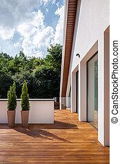 Stylish home terrace