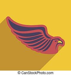 stylish icon Eagle
