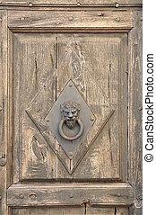 Stylish knocker