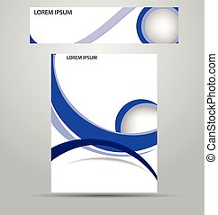 stylish layout corporate identity