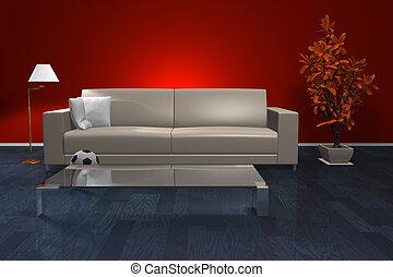 Stylish living room interior