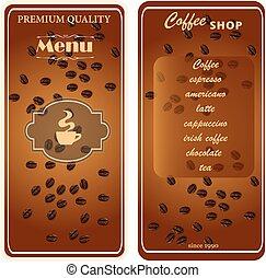 menu template