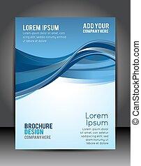 Stylish presentation of business poster, magazine cover, ...