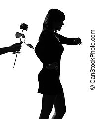 stylish silhouette late lover