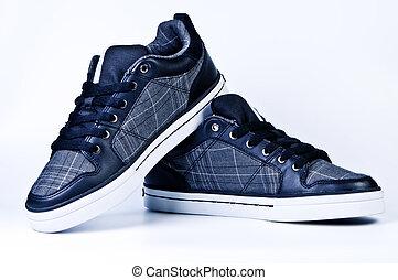 Stylish sneakers.