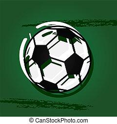 Stylish soccer ball