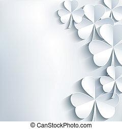 Stylish St. Patricks day background - Stylish abstract St....