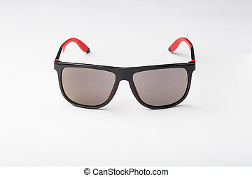Stylish sunglasses isolated on white background cutout