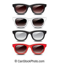 Stylish sunglasses vector illustration