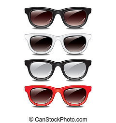 Stylish sunglasses vector illustration