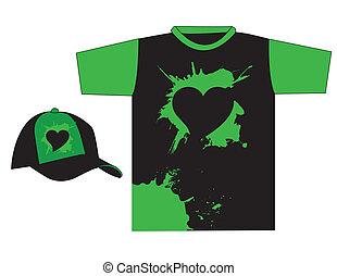 stylish t-shirt design vector