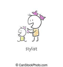 stylist.