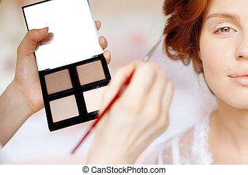 stylista, makijaż, panna młoda, ślub, marki, dzień