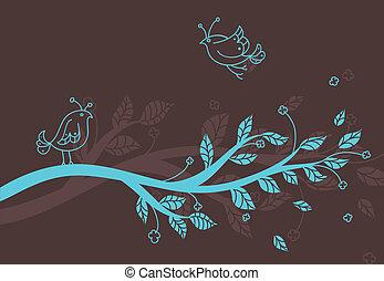 stylized, 나무