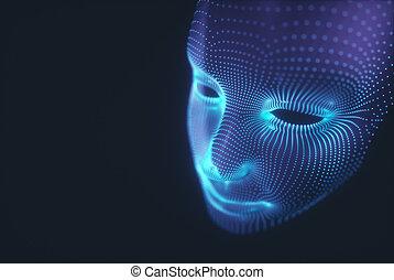 Stylized 3D Face