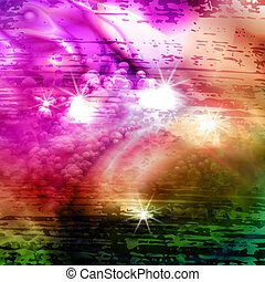 stylized abstract background, vector