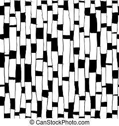 Stylized Birch Seamless Pattern