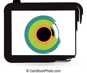Stylized Camera logo