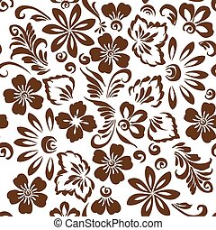 Stylized floral ornament
