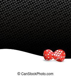 Stylized gambling background