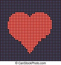 Stylized heart