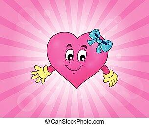 Stylized heart theme image 3