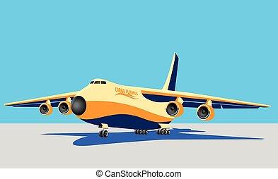 large cargo plane
