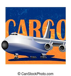 large cargo aircraft