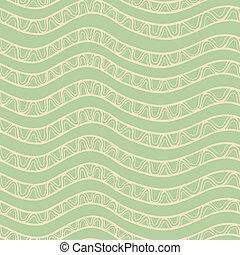 Stylized spiral stripes