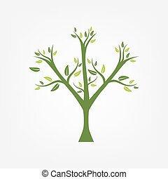 Stylized tree