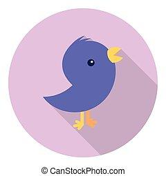 Stylized Twitter Bird