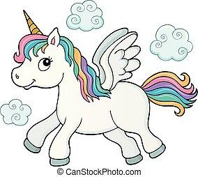Stylized unicorn theme image 3