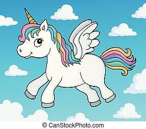 Stylized unicorn theme image 4