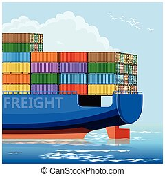container carrier ship