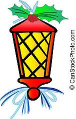 Stylized Vector Lantern