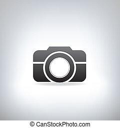 stylizowany, zdejmować aparat fotograficzny