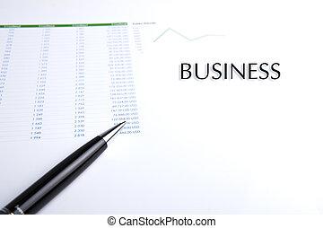 stylo,  Business, Nature morte