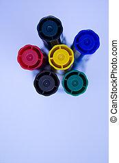 stylo couleur, 2