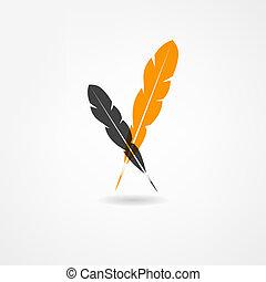 stylo, icône