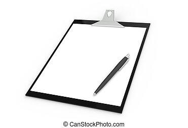 stylo, presse-papiers
